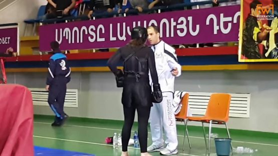 Championnat Internationnal Armenie Sanda Taolu