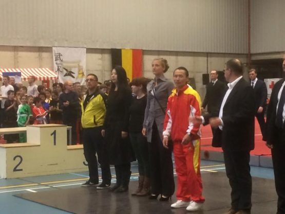FWF - Fédération Wushu France added 9 new photos — with Said ChiuBelabed Belabed...