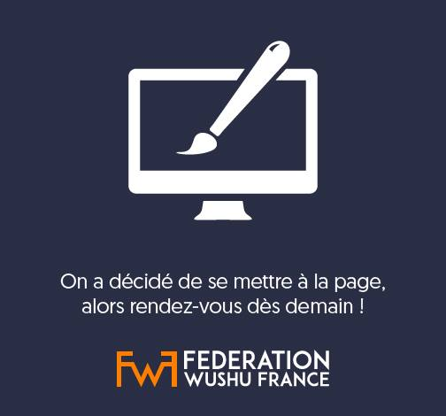 FWF - Fédération Wushu France added a new photo — feeling amused.