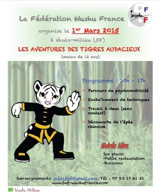 FWF - Fédération Wushu France shared their post.