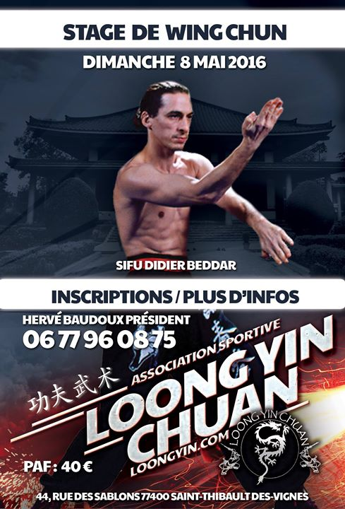 Photos from Association Loong yin chuan's postAttention Changement d'horaires de...