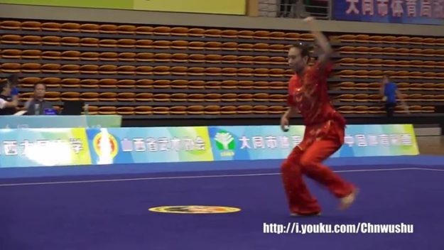 2018 (China) National Wushu Taolu Championship Women's Changquan Yao Yang (Shanxi) 1st Place